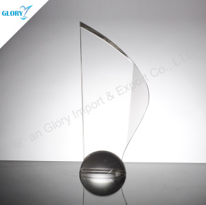 Custom Crystal Corporate Awards Plaques