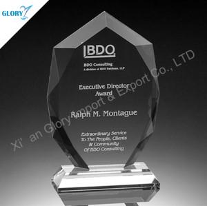 Custom Crystal Corporate Awards Trophies