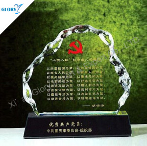 Custom Iceberg Crystal Corporate Awards