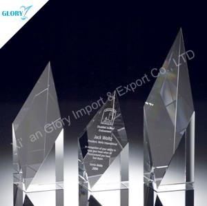 New Custom Obelisk Crystal Award
