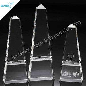 Elegant Blank Crystal Tower Award