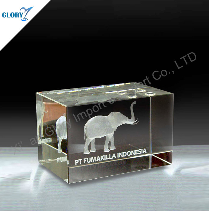 Vivid Animal Theme 3D Crystal Cubes