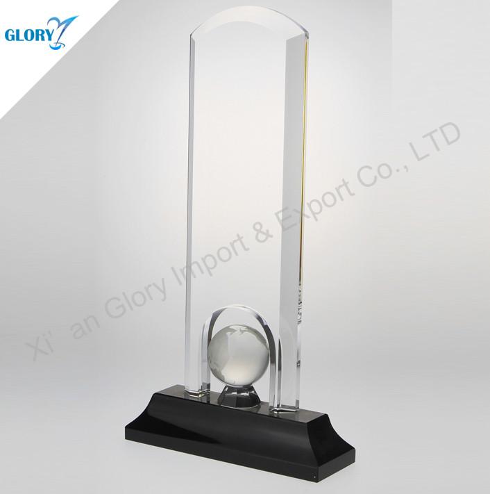 Custom Trophy Plaque Crystal Supplier