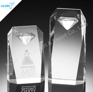 3D Laser Diamond Shape Award