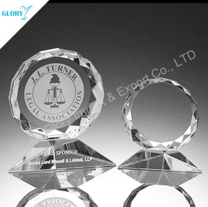 Wholesale Engraving Round Crystal Trophies