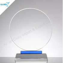 Wholesale Round Glass Trophy Blanks
