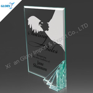Professional Custom Glass Plaques For Award
