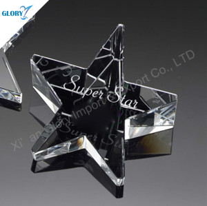 New Design Paperweight Crystal Star