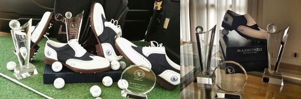 custom crystal golf trophy- gloryawardtrophy