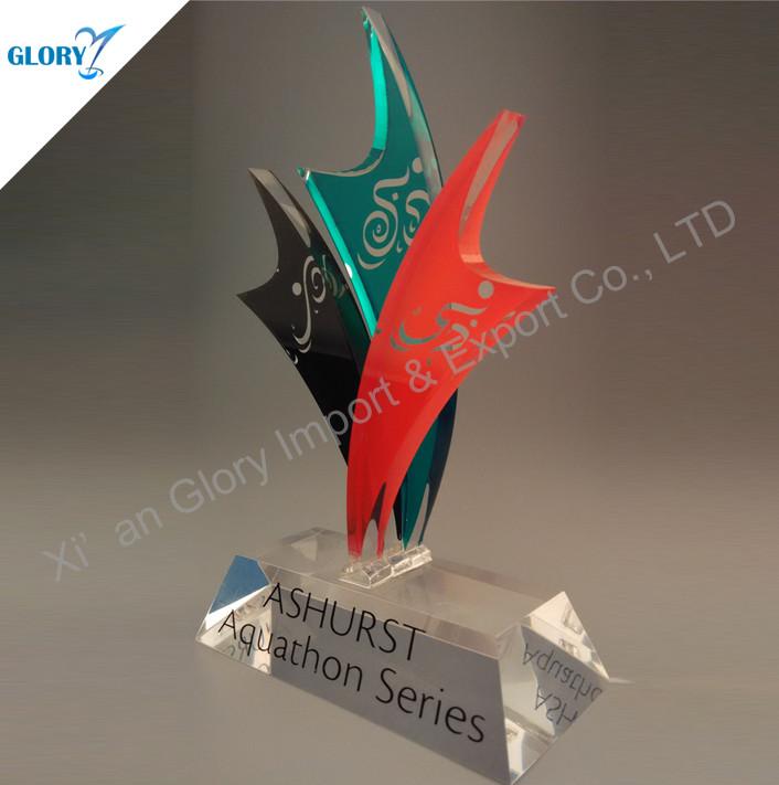 Wholesale Colorful Acrylic Award