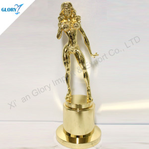 Quality Bodybuilding Statue Trophy For Woman