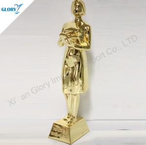 Custom Elegant School Trophies For Teacher