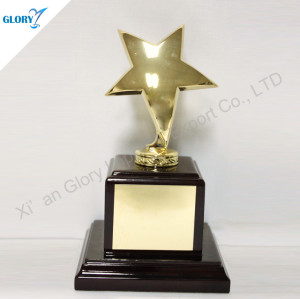 Star Shape Corporate Award Trophies