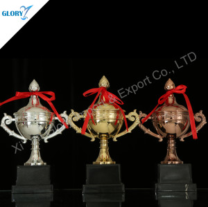 Gold Silver Copper Plastic Toy Trophy Cup