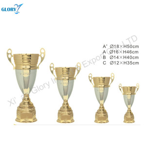 Large Quality Elegant Metal Trophies Cup