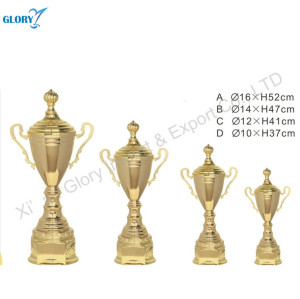 Quality Gold Metal Sports Trophies and Cups