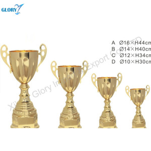 Beautiful Golden Trophy Cup For Souvenir
