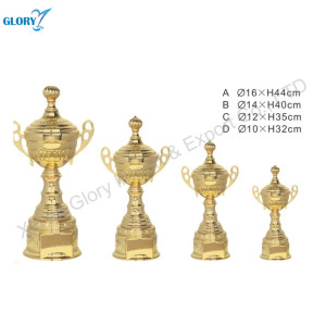 Beautiful Gold Trophy Cup Large