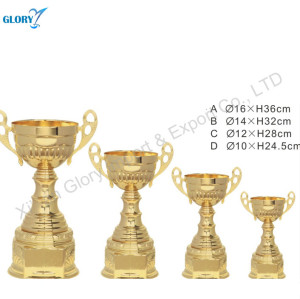 Wholesale Gold Engraved Trophy Cup