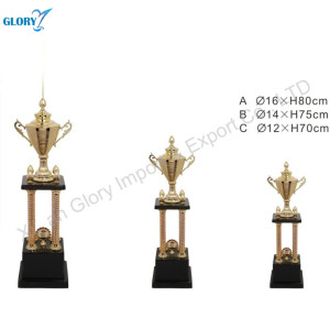 Wholesale Fancy Award Golden Cups Trophy