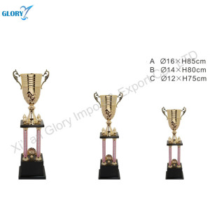 Wholesale Fancy Metal Trophy Cups For Award