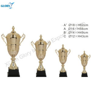 Wholesale Football Trophy Cup Gold