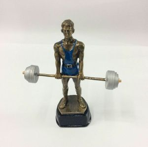 Weight Lifter Sport Resin Figures