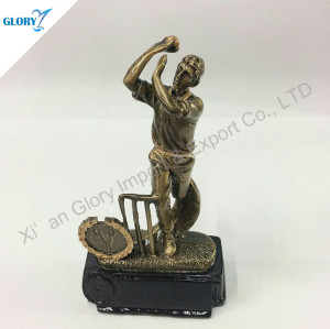 Quality Resin Sport Trophy For Cricket