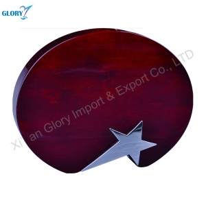 Carve Round Blank Wood Plaque For Award