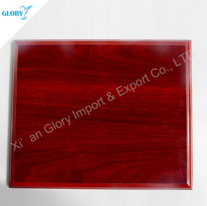High Quality Red Wooden Plaques Blank