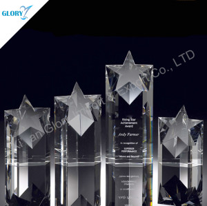 Wholesale Crystal Star Award Trophy