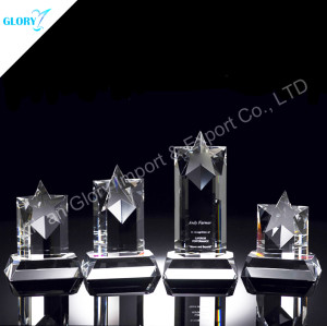 Wholesale Crystal Star Awards Trophies