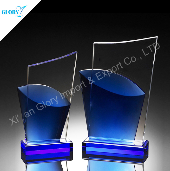 Customized Crystal Award Plaque Trophies
