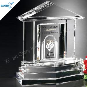 Wholesale Custom Crystal Building Trophy