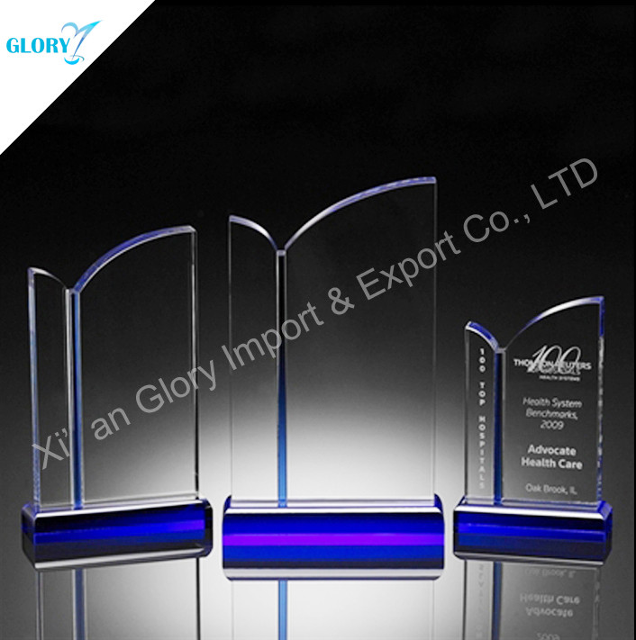 Custom A Crystal Coloful Trophy for You