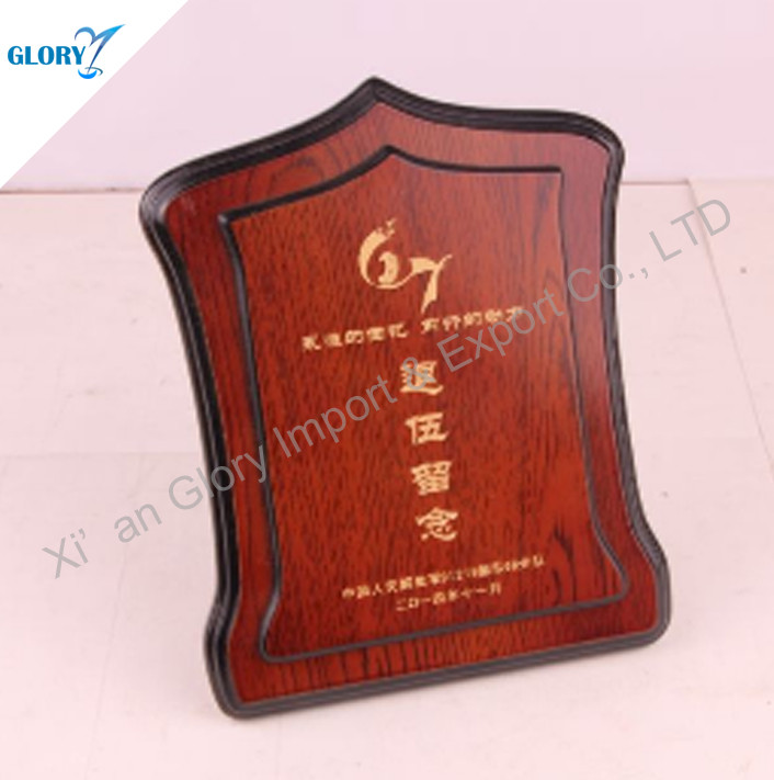 Good Quality Wood Design Awards For Souvenir