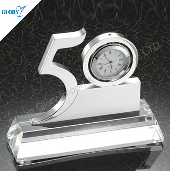 50th Anniversary Gifts with Clock