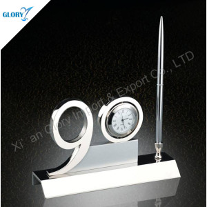 Good 90th Gift Anniversary with Clock