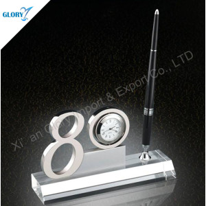 80 Year Desktop Clock Anniversary Gifts