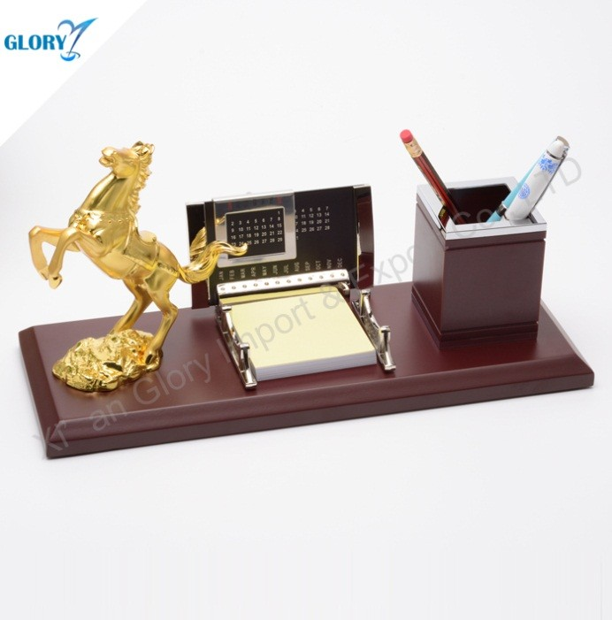 golden horse desktop gift-gloryawardtrophy