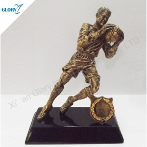 Fantasy Player Action Figure Trophies Football