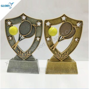 Wholesale Colorful Resin Tennis Awards for Sport