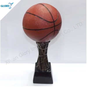 Vivid Resin Basketball Trophies for Souvenir