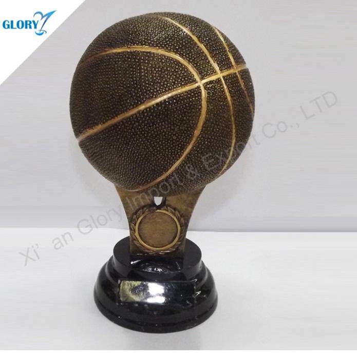 High Quality Resin Basketball Awards for Souvenir