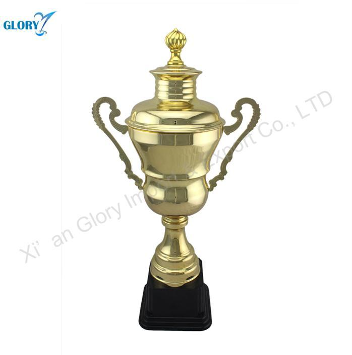 Wholesale Golden Metal Trophy Cups Decoration