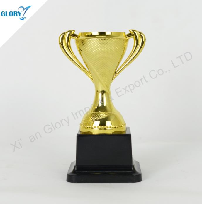 Wholesale Gold Silver Bronze Plastic Trophy Cup