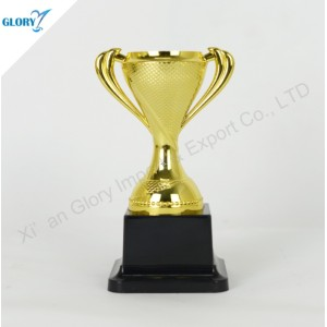 Wholesale Gold Silver Bronze Plastic Trophy Cup