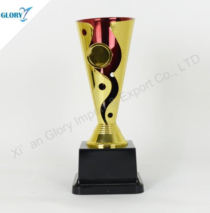 Unique Gold Silver Bronze Plastic Trophy Cups