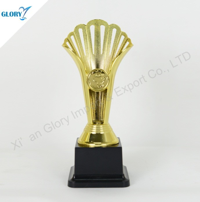 Beautiful Plastic Cup Trophy Gold