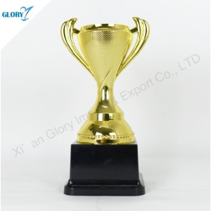 China Elegant Golden Plastic Sport Trophies for Souvenir